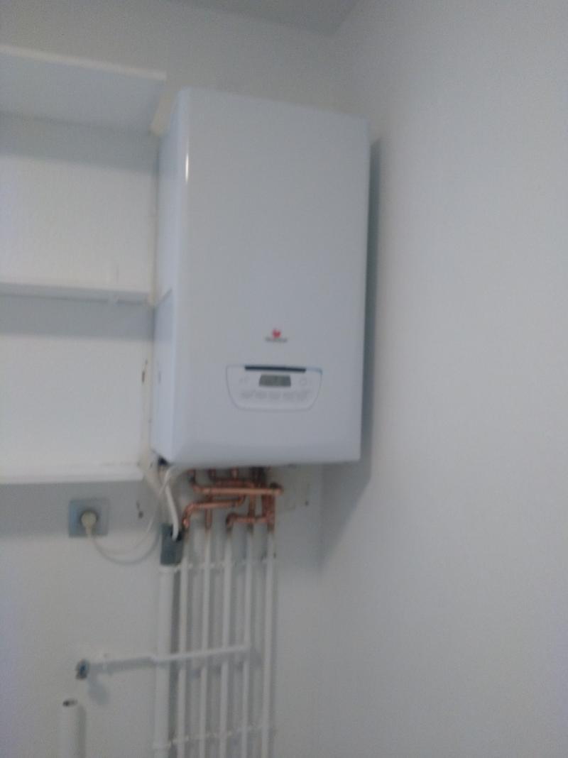 chaudière installation. Economie d'energie