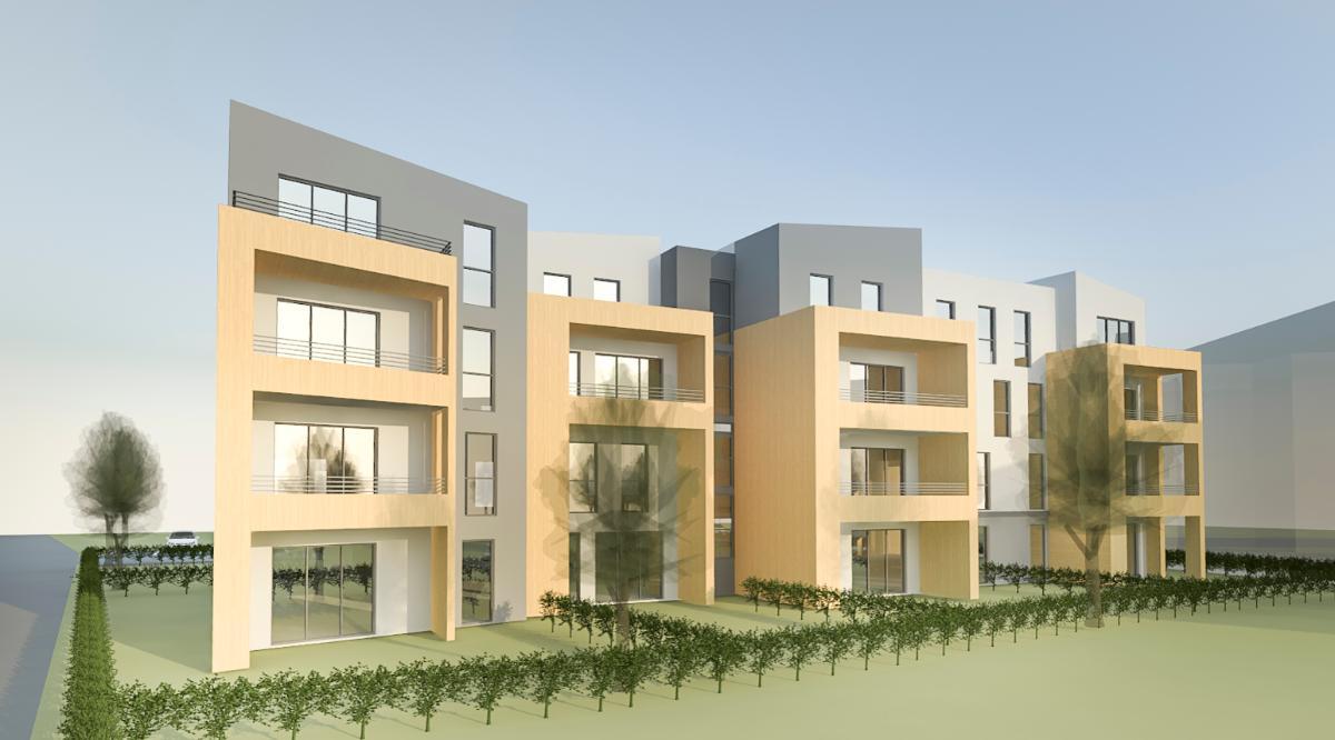 25 logements à Bonson - Travaux en cours - 2 200 000 € HT