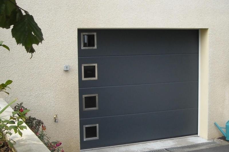 Sidonie, portes de garage sectionnelles refoulement plafond