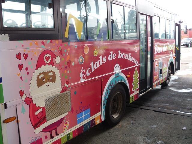 marquage de bus