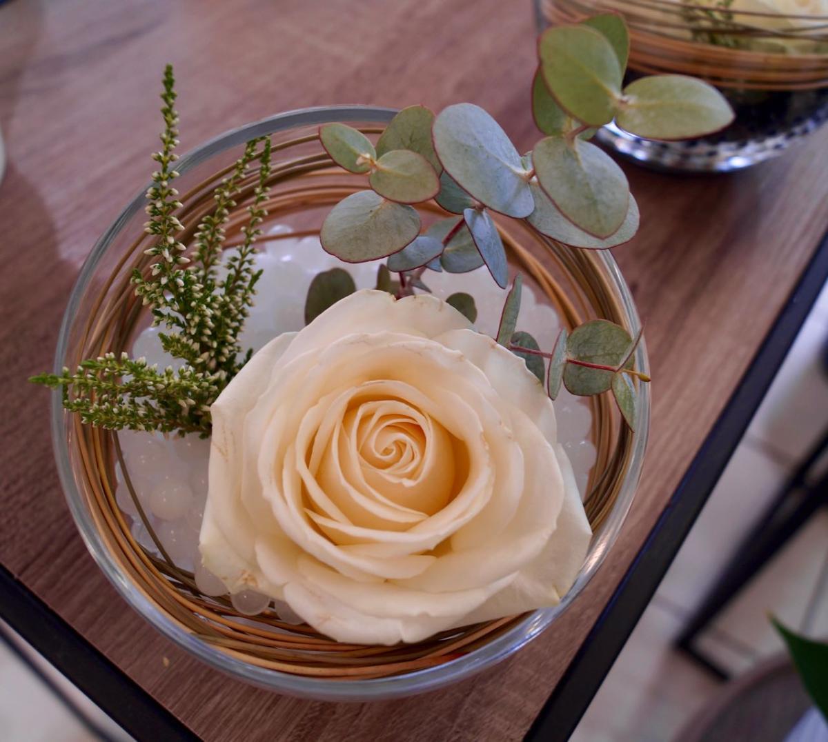 compo rose blanche