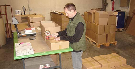 logistique - préparation de commande