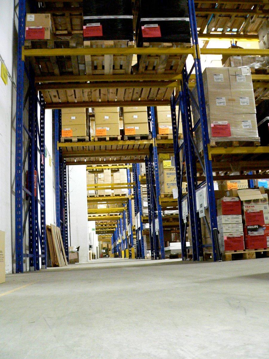 4 500 m² d'entrepôt logistique