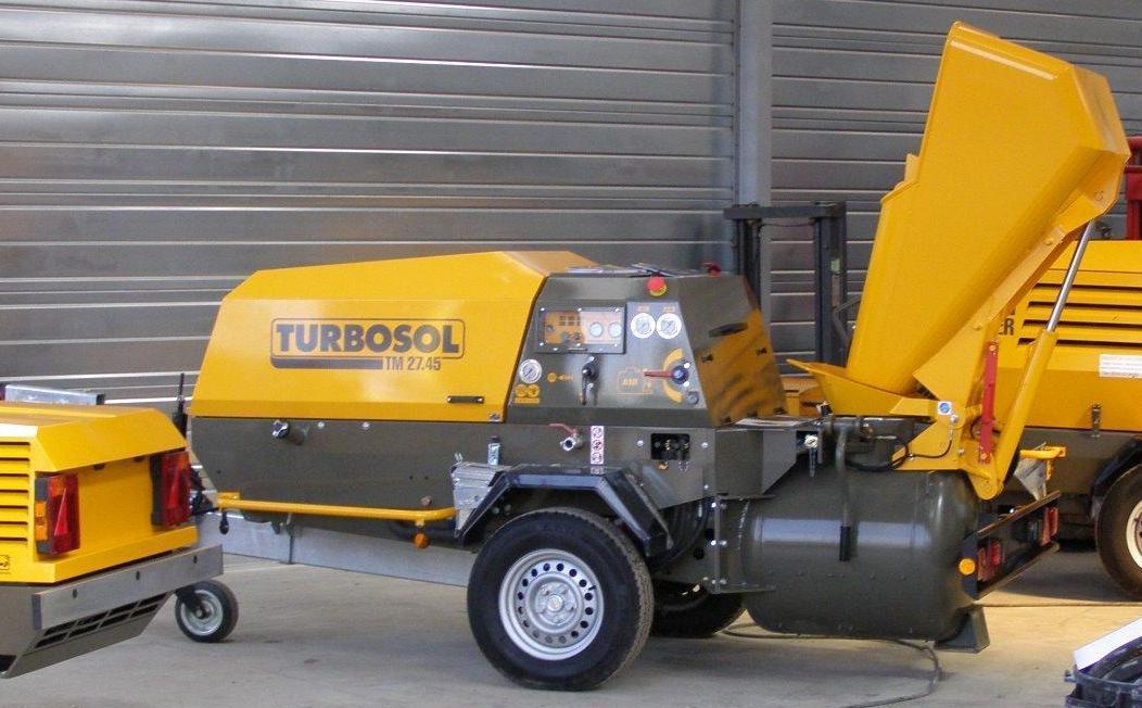 Transporteur de chape Turbosol TM2745