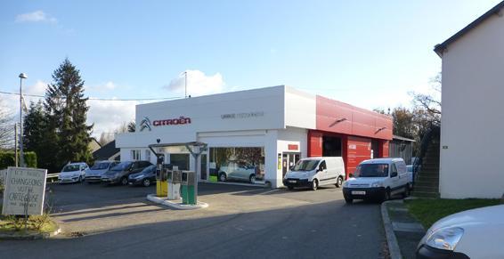 Garage Plissonneau à Campbon - Vue ensemble