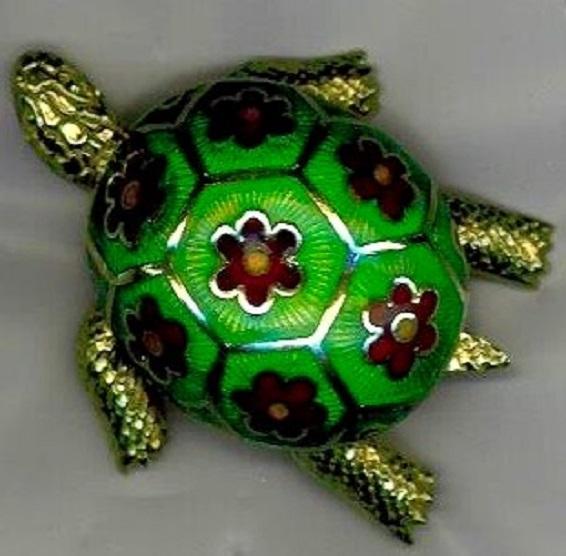 Broche tortue