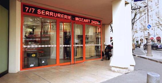 Serrurerie Mozart
