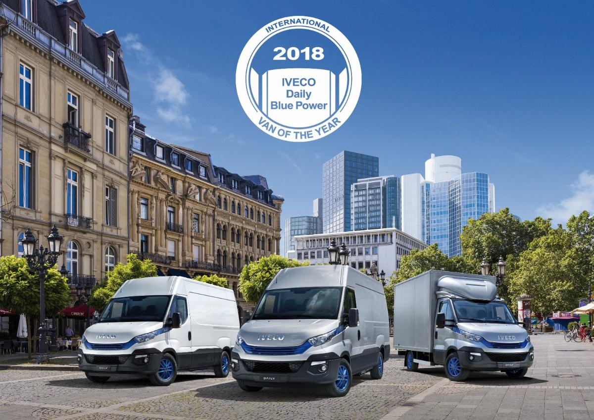 NOUVEAU DAILY 2018 VAN OF THE YEAR 2018 Essonne 91
