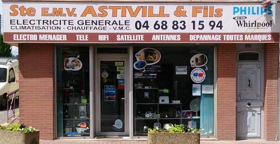 Dépannage d'électroménager - Astivill et Fils à Le Boulou