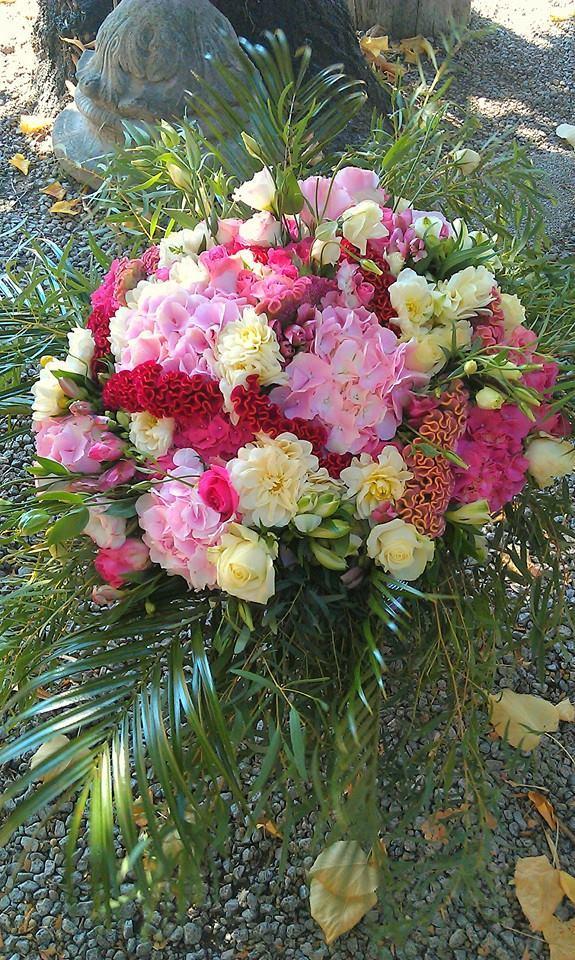 Bouquet rond - Acacia Fleurs - Fleuriste Cannes