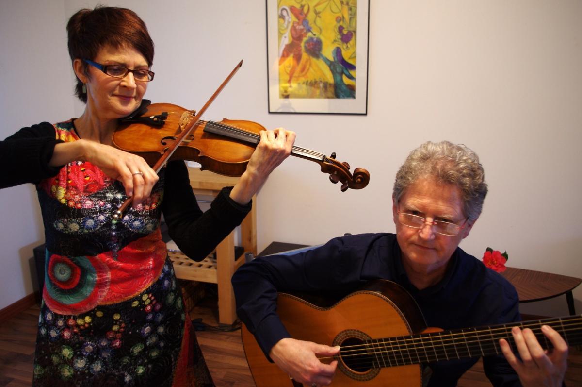 Duo violon guitare Kerdinn