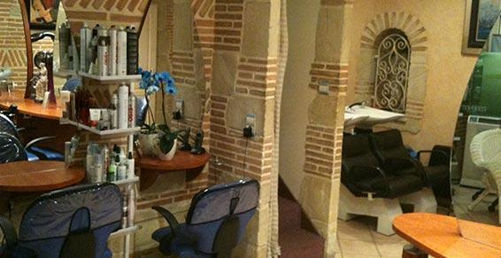 Intérieur du salon