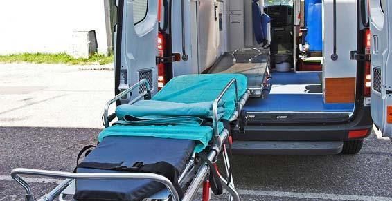 Ambulances du Soleil - Ambulance - DRAGUIGNAN - Chariot brancard