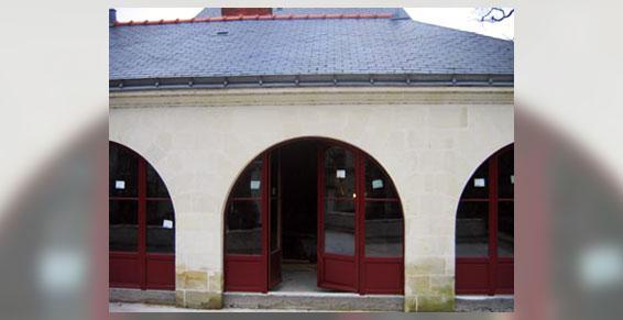 Menuiserie PVC - portes cintrées