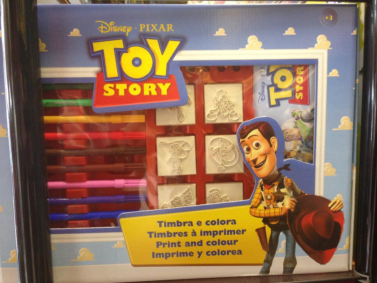 Timbres à colorier de la série Toy Story - A Noël - Joupi - Brest
