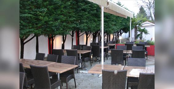 Restaurant L'Amaryllis, Terrasse calme