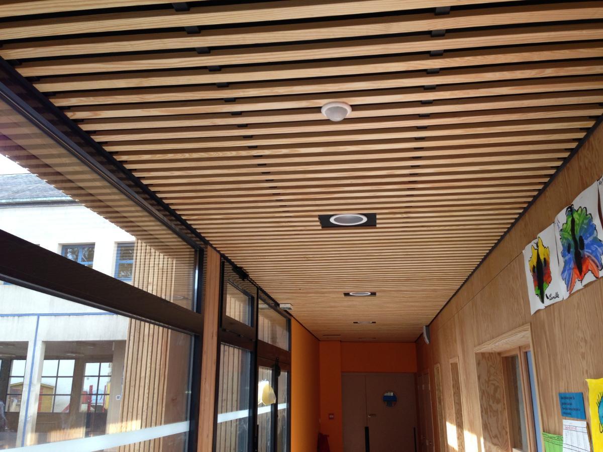 Plafond bois Quimper - Guillimin Quimper