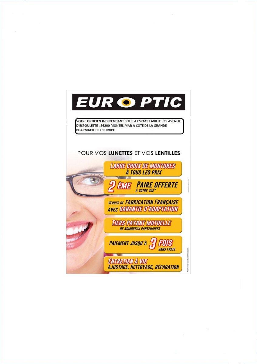 EUROPTIC PARTENAIRE DE VOTRE PHARMACIE