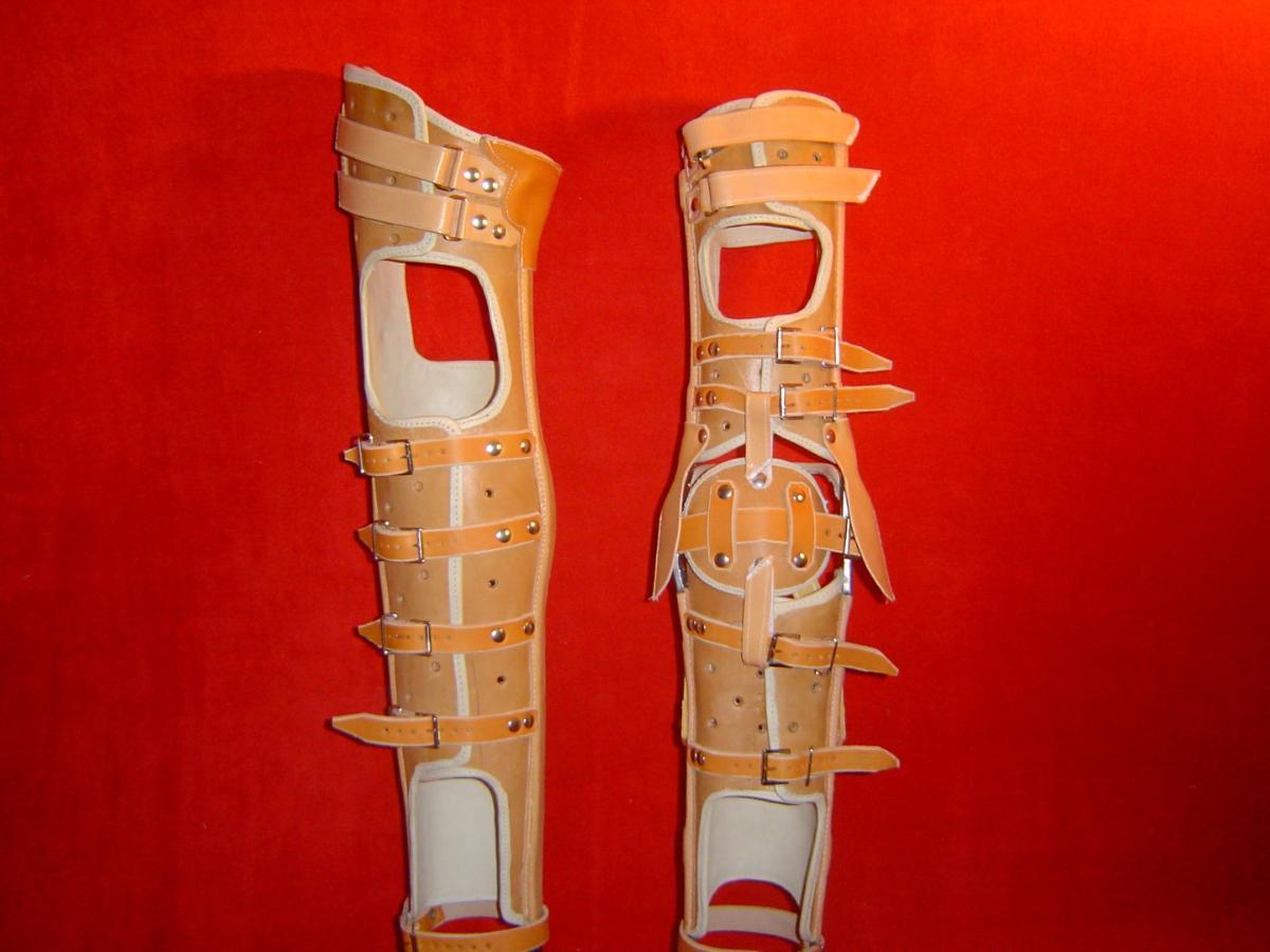 Orthèse cruro-pédieuse de marche à Caen YVERNOGEAU
