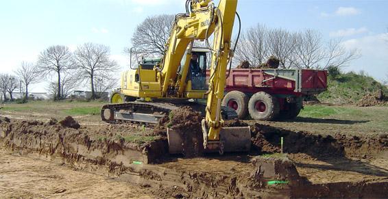 travaux publics - terrassement - le cousse «les rochelettes»