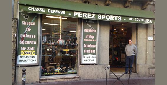 Pérez Sports - Armes et Loisirs  à Montpellier dans l'Hérault (34)