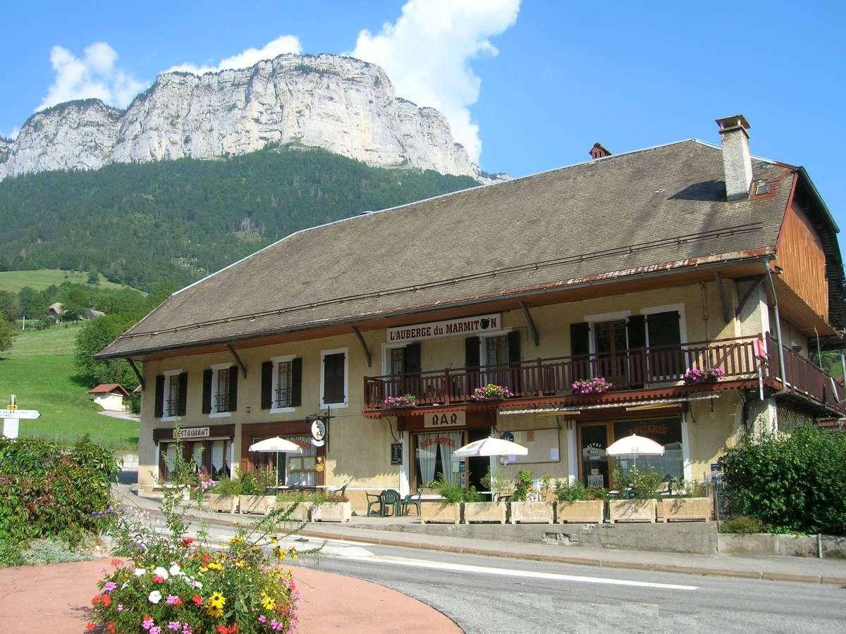 Auberge du Marmiton à Dingy-Saint-Clair en Haute-Savoie