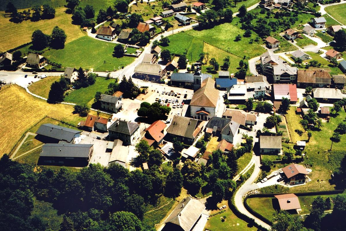 photos aériennes Dingy st clair - Marmiton