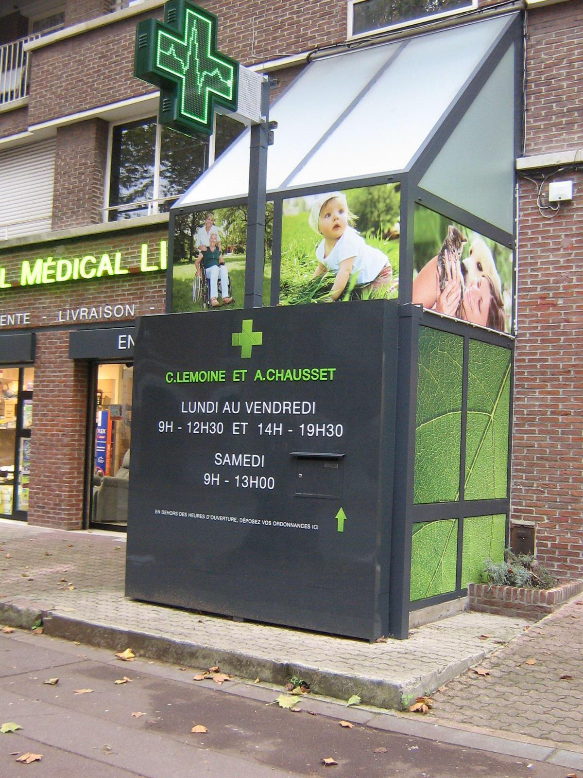 Pharmacie Linné - Possiblité de déposer vos ordonnances