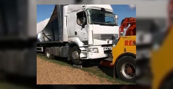 garages poids lourds - camion