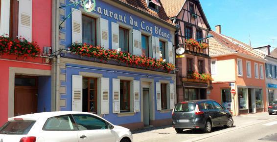 Au Coq Blanc à Niederbronn-les-Bains - Restaurant