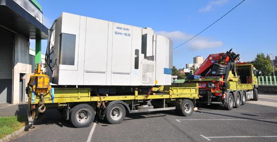 Transports et déménagement par Transports Chenet à Veauche