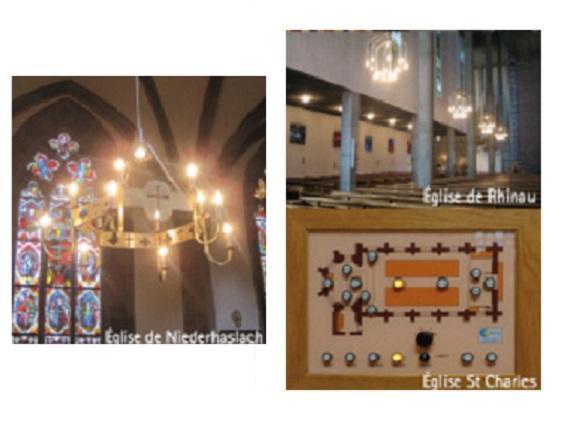 Éclairage et sonorisation d'église - Illkirch-Graffenstaden