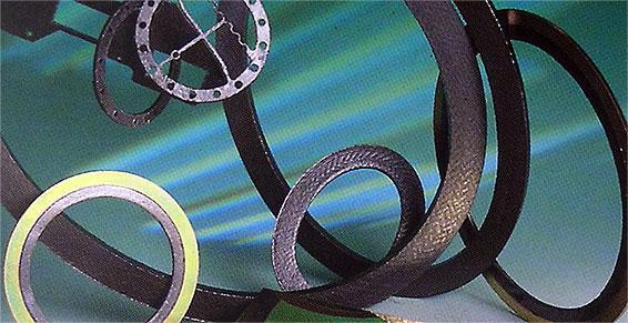 caoutchouc - Joint moulé métallique