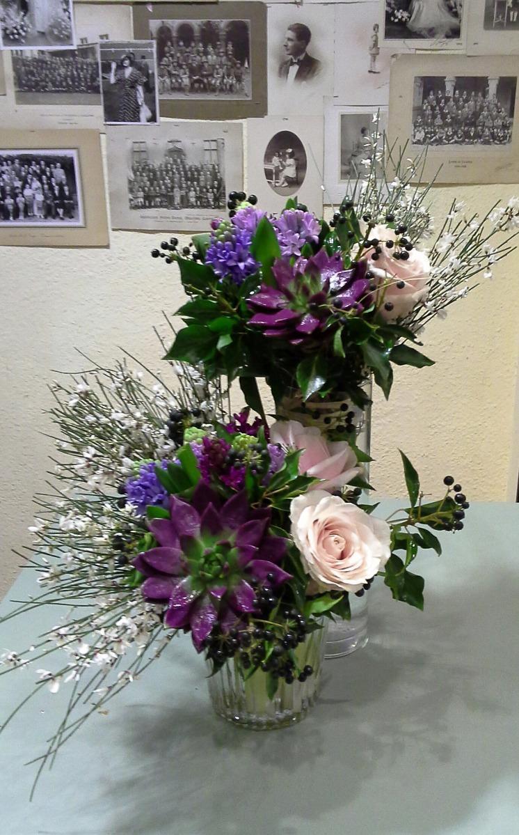 bouquet plante grasse