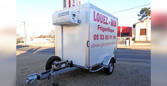 Location de véhicules frigorifiques, utilitaires et tourismes