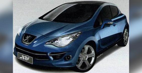 Peugeot 208 design