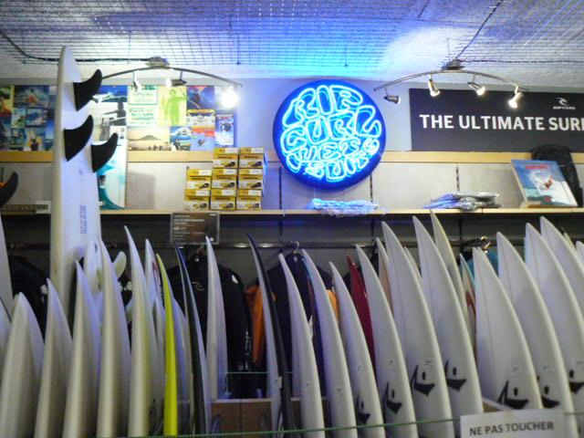 Bahia Surf Shop, Planches