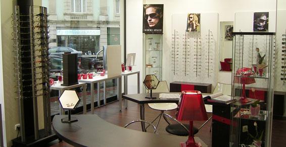 Agencement de magasins - opticiens Longeville lès Metz