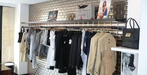 Rayons de magasins