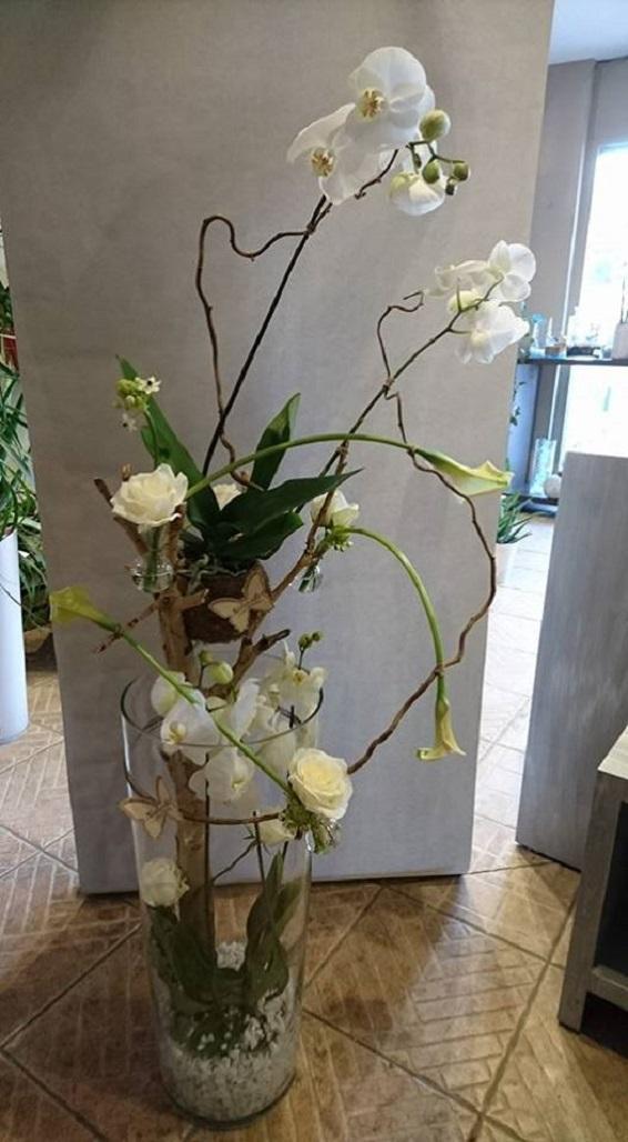 Composition d' orchidées
