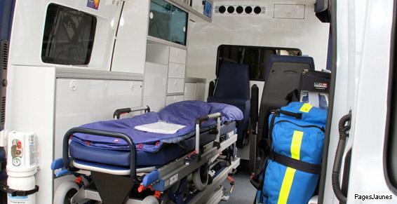 Transport de malades couchés à Paris