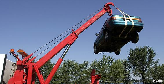 Patrac intervient pour l'enlèvement de votre véhicule hors d'usage