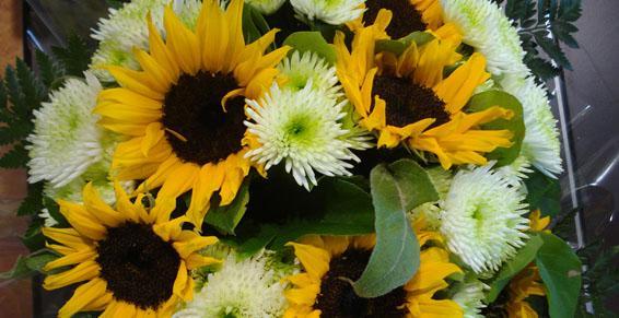 Bouquet-rond Lola Fleurs, fleuriste à Alès