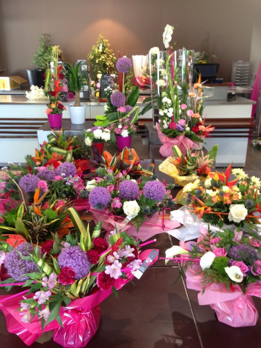 Grands choix de bouquets de fleurs Lola Fleurs Ales