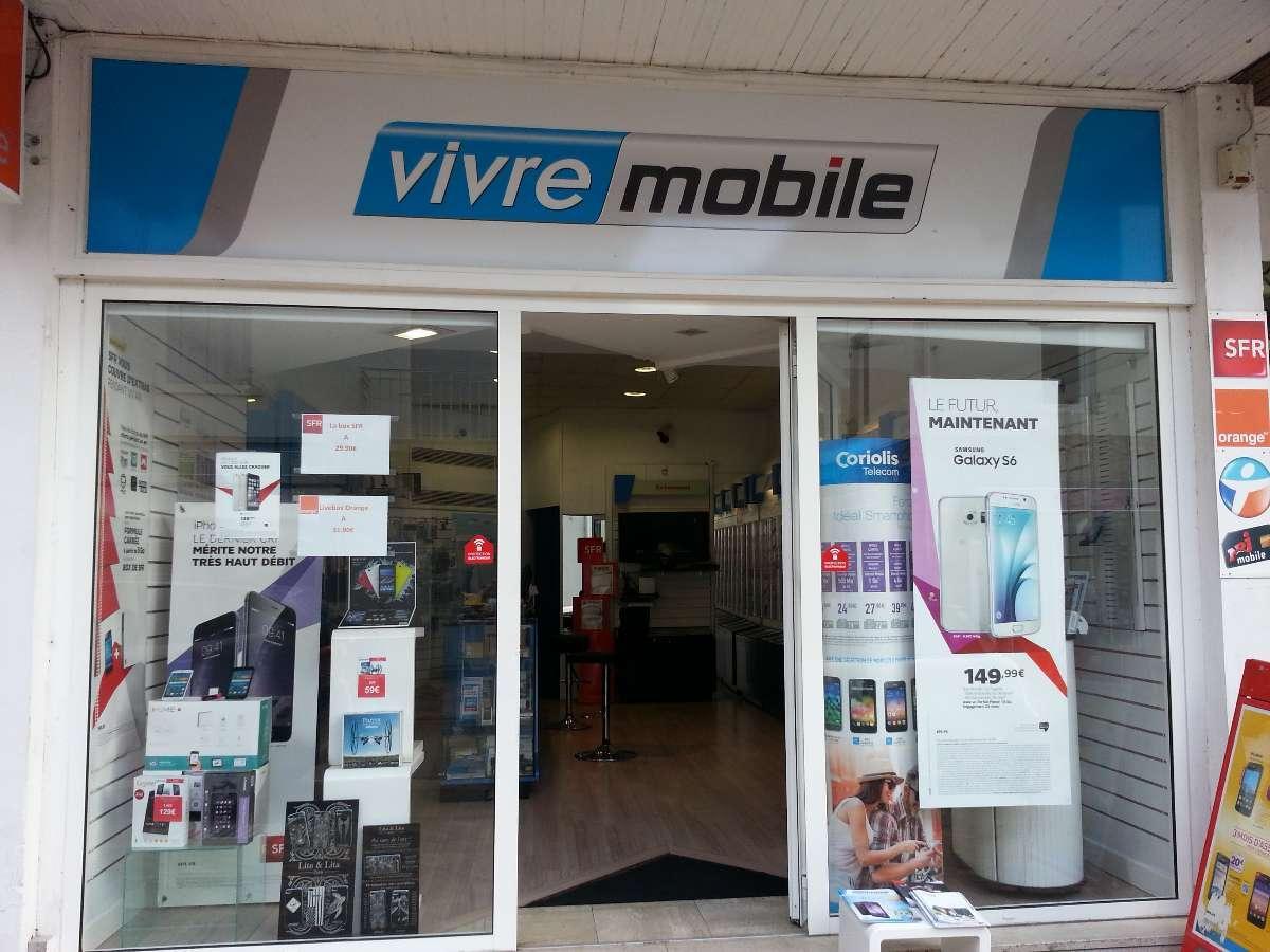 Vivre Mobile à Mont-de-Marsan (40) vente de téléphonie