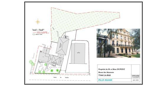 Plan de corps de rue - Lagny sur Marne