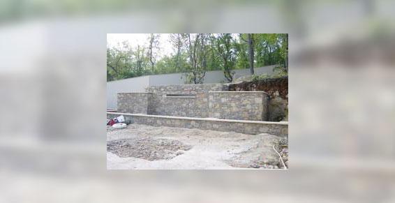 Soutènement par 3P Construction à aiglun