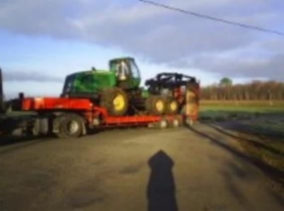Transport de matériel agricole à Bergerac (24)