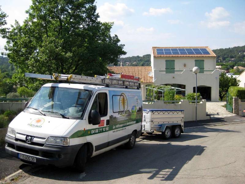 Installation de ballons d'eau chaude thermodynamiques à Nîmes (30)