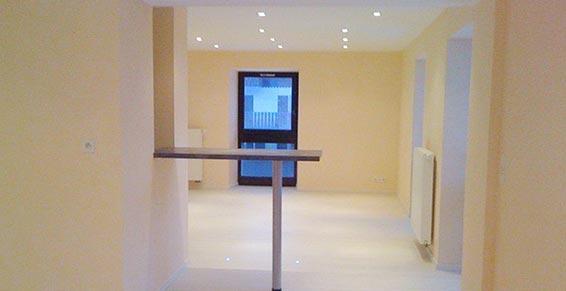 Rénovation immobilière 74  - Amphion les Bains - Plafonds et sols